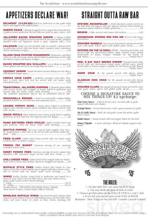 14829 s padre island dr, corpus christi, tx 78418. Scuttlebutt's Seafood Bar & Grill menu in Corpus Christi, Texas