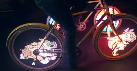 monkey bike lights who knew safety could look so cool bored panda