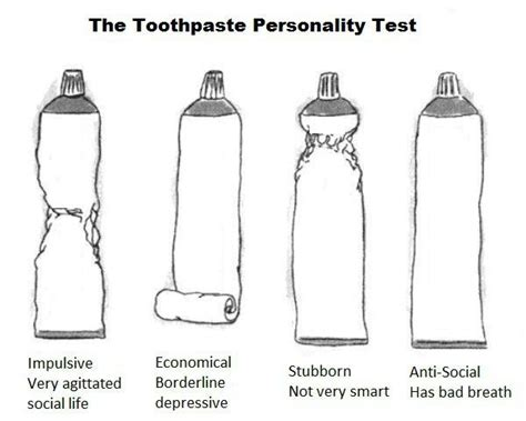 The Toothpaste Personality Test. Tots To Teens Pediatric