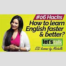 How To Learn English Faster & Better? Free Spoken English Lessons Youtube