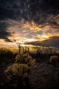 Arizona Sunset Landscape