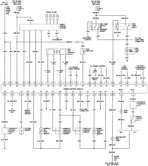 1990 Chevy K5 Blazer Radio Wiring Diagram by 48 2 2l Vin G Engine Wiring Diagram 1990
