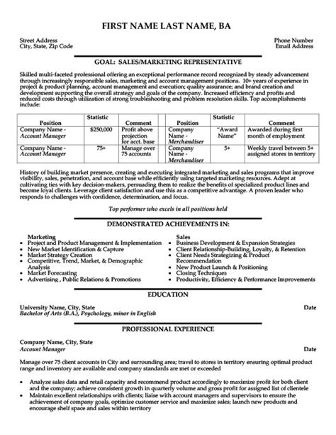 resume for account manager 48 images key account