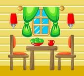 Dining Room Clipart Images by Dining Room Clipart Vector Graphics 571 Dining Room Eps
