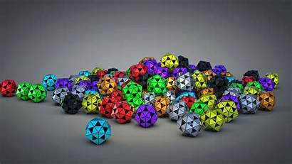 4k 3d Wallpapers Resolution Abstract Background Ball