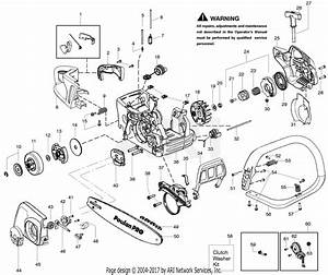 Poulan Sm4518avx Gas Chain Saw Parts Diagram For Housing