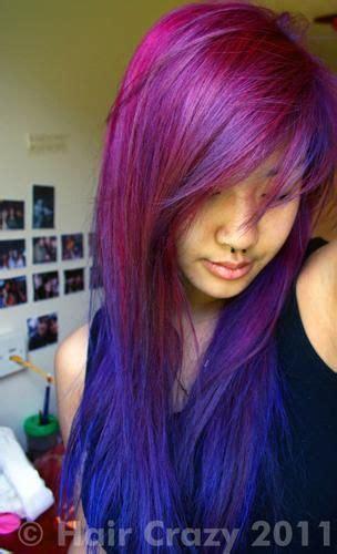 Stargazer Coral Blue Stargazer Violet Hair Purple