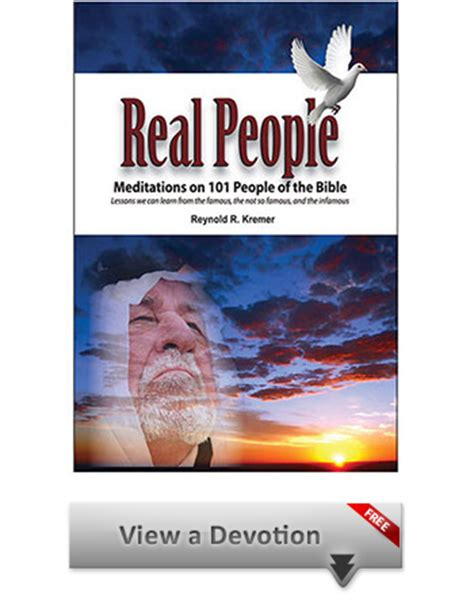 People Of The Bible Devotions