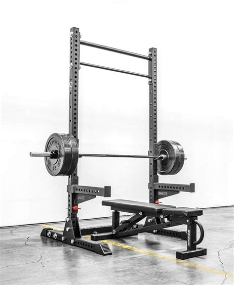 squat stand garage rack rogue gym fitness monster stands gyms squats bar rouge sm equipment pull power half diy bench