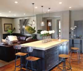 houzz kitchen island keegan kitchen family room contemporary kitchen other metro by emily winters