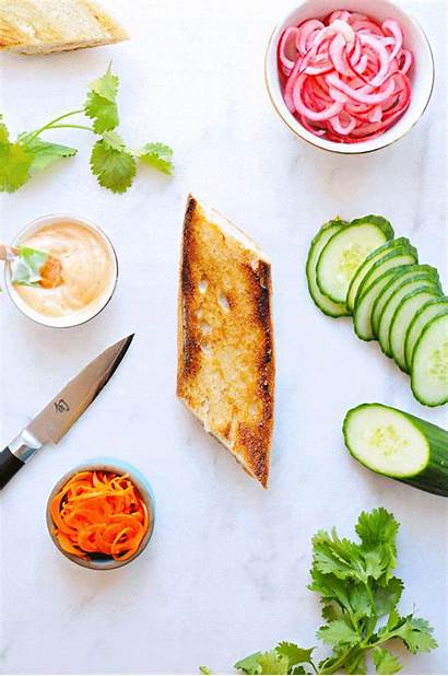 Eggplant Avocado Hoisin Grilled Mi Banh Thepigandquill
