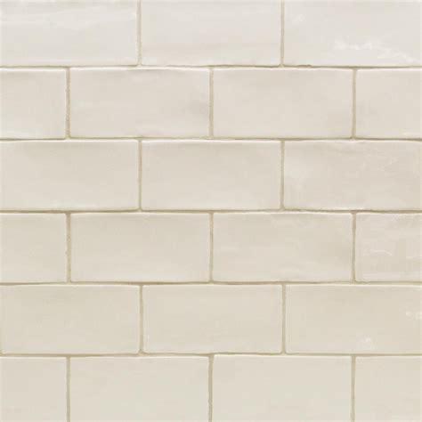 subway wall tile splashback tile vanilla 3 in x 6 in x 8 mm