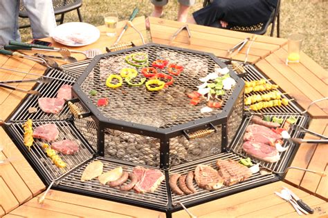 Backyard Grill South by Diy Communal Outdoor Grill