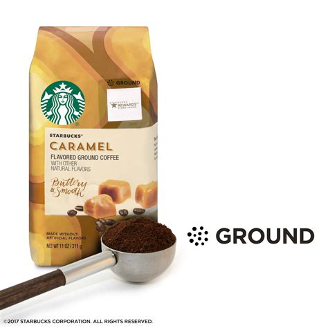 * the % daily value (dv) tells you how much a nutrient in a serving of food contributes to a daily diet. Starbucks Caramel Ground Coffee Nutrition - Besto Blog