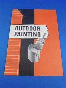 Outdoor Painting Book Manual Guide Color Schemes How To