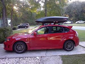 Cargo Box Fitment For 2012 Outback