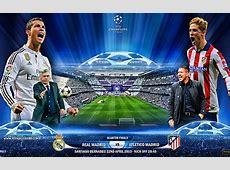Real Madrid vs Atletico Madrid 22 April 2015 UEFA