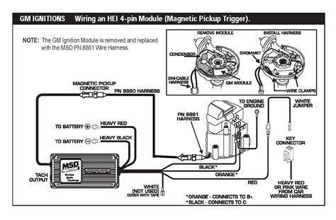 Msd Wiring Diagram Hei Distributor