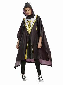 harry potter hufflepuff house robe poncho hot topic With robe poncho
