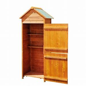 Meuble De Rangement Exterieur : outsunny meuble armoire abri de jardin rangement outils ~ Edinachiropracticcenter.com Idées de Décoration