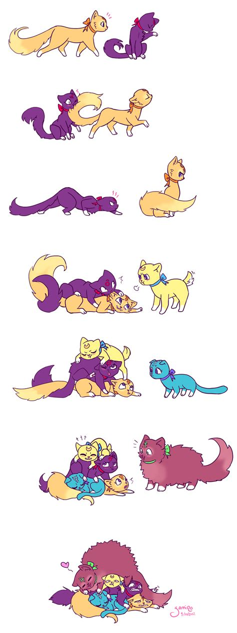 Sailor Catpile By Yamino On Deviantart