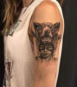 Photo : Tatouage femme : un tatouage sauvage sur le bras