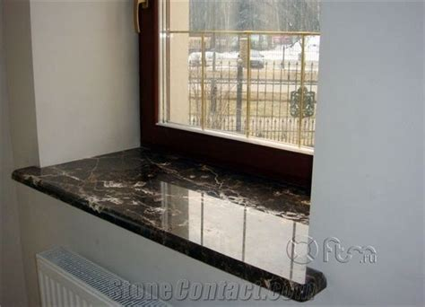 White Window Ledge by Emperador Window Sill Brown Marble From Russian
