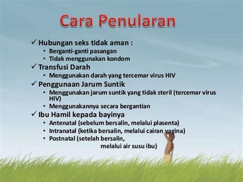Menghindari Hamil Setelah Berhubungan Hiv Dan Aids