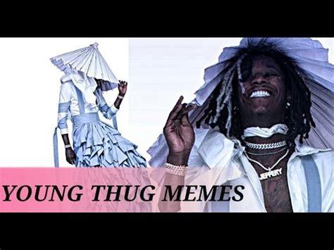 Young Thug Memes - young thug jeffrey album cover art memes wearing a dress youtube