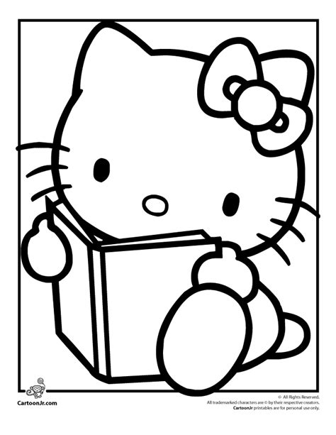 Kitty Kat Coloring Pages