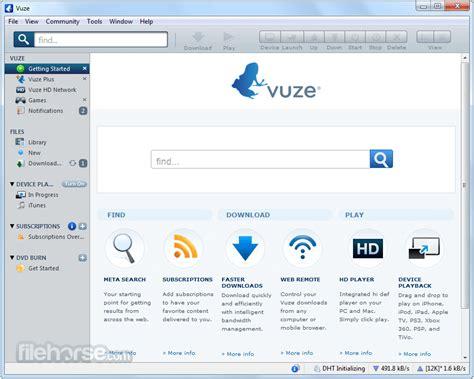 vuze search templates vuze 5 7 6 0 32 bit for windows filehorse