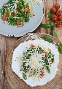 Wie Gesund Ist Spargel : ein star im fr hling spargel avocado salat mit parmesan gest ber ~ Frokenaadalensverden.com Haus und Dekorationen