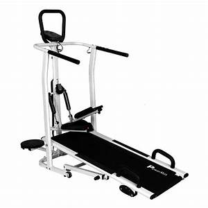 Manual Treadmill - Powermax Fitness Mft-410
