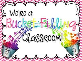 We Are Bucket Fillers