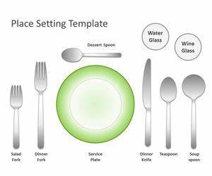 Free place setting template for powerpoint free for How to set up a powerpoint template