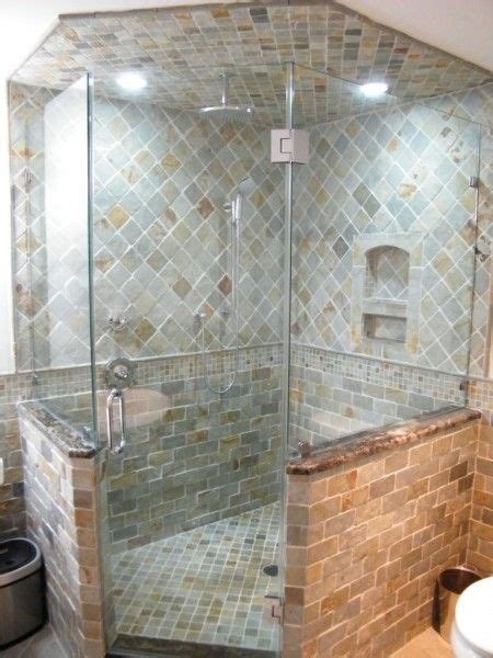 neo angled corner showers lakewood   For the Home