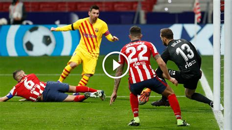 Atletico Madrid vs Barcelona 1-0 Highlights & Goals 21/11/2020