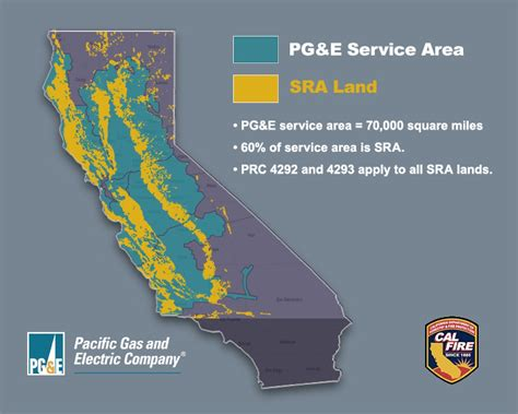 pacific gas  electric company service territory pge