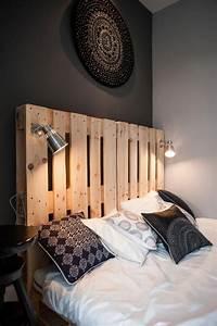 Tete De Lit En Bois : t te de lit en bois 5 id es inspirantes le blog carresol tendance bois d coration ~ Teatrodelosmanantiales.com Idées de Décoration