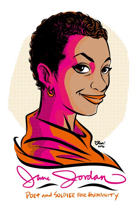 As Activism June Jordans Writings From The Progressive by 100days100women Day 48 June Poet Activist