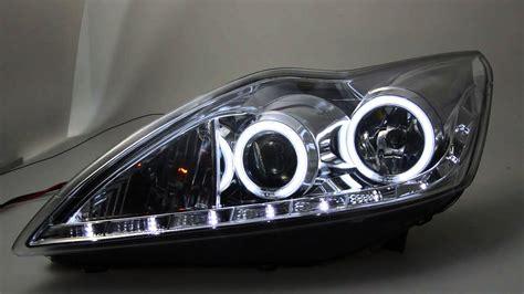 ford scheinwerfer sold out sw ccfl eye scheinwerfer ford focus mk2 facelift chrome sw tuning
