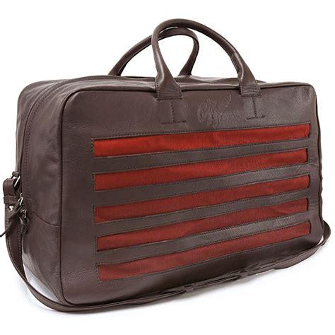 Alfa Romeo Heritage Leather Bag  Italian Auto Parts & Gagets