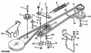 Murray Lawn Mower Deck Parts Diagram