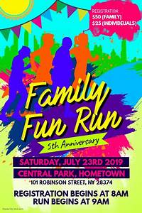 91 family fun day flyer template summer family fun day With fun day poster template