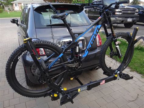 mountain bike hitch rack roof rack vs hitch rack vs trunk rack mtbr