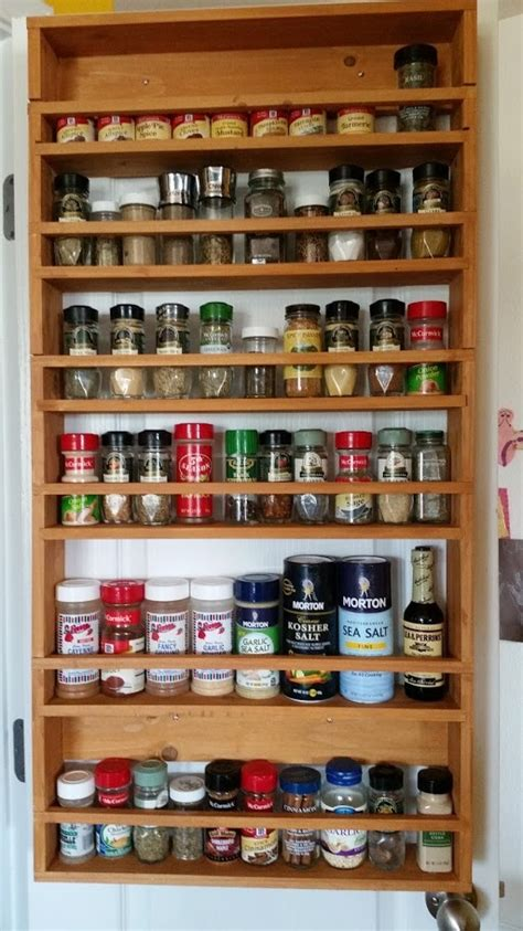 ana white door spice rack  xs diy projects