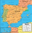 Barcelona on map - Map of barcelona on map (Catalonia Spain)