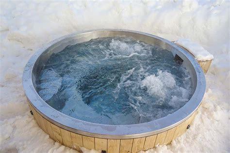 Exklusive Whirlpools Aus Edelstahl Für Terrasse Und