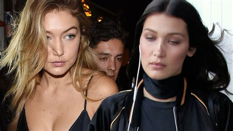 At War! Gigi And Bella Hadid Battle Over Who's Top Model ...