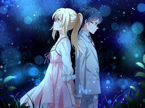 Anime Couples In Wallpapers - desktop wallpaper anime kaori miyazono kousei